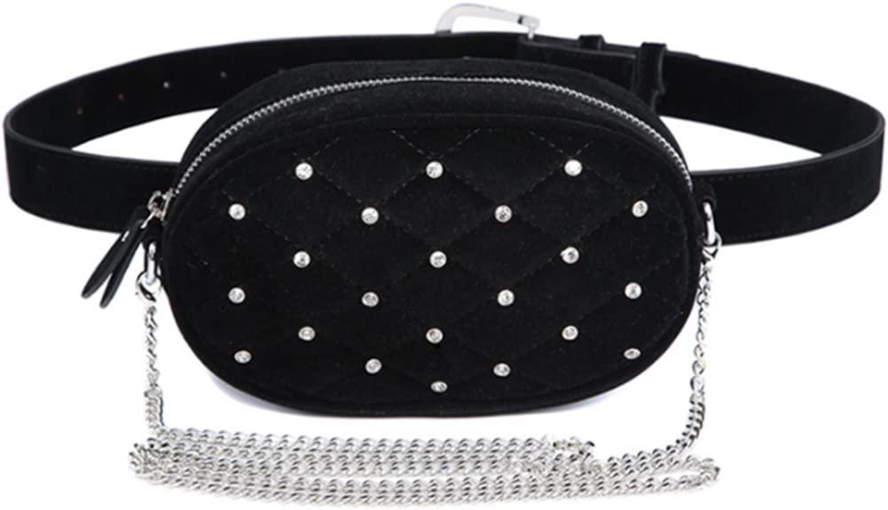 Stylish Waist Fanny Packs Belt Crossbody Shoulder Bag Purse For Travel Women