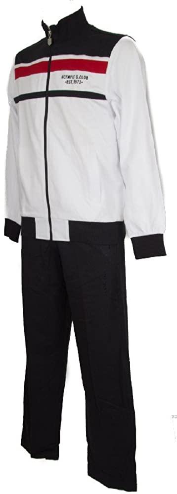 Full sweatshirt with zip sport suit tracksuits men's man LOTTO item N6778 SUIT J