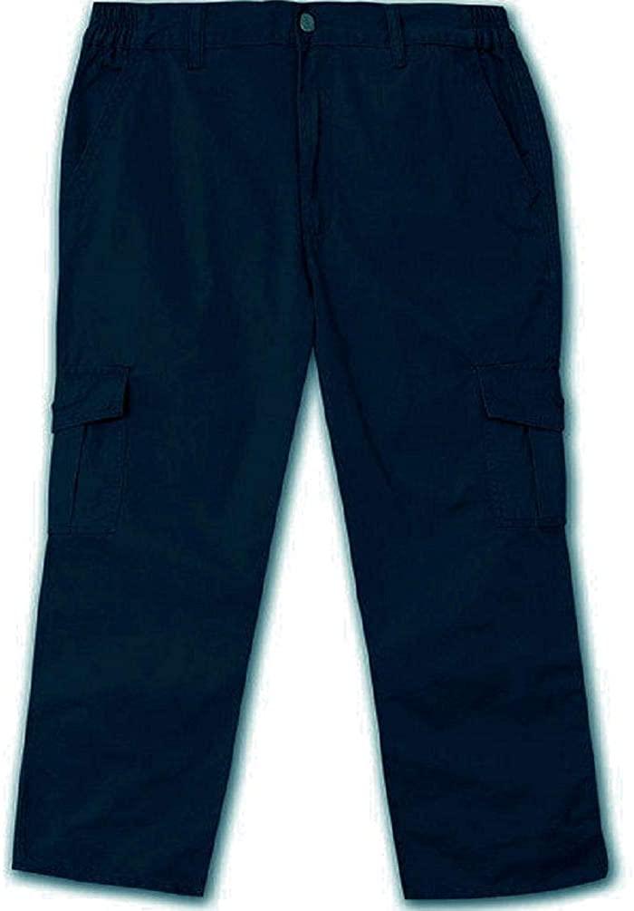 Full Blue Big & Tall Men's Cargo Pants 100% Cotton 42 X 28 Navy