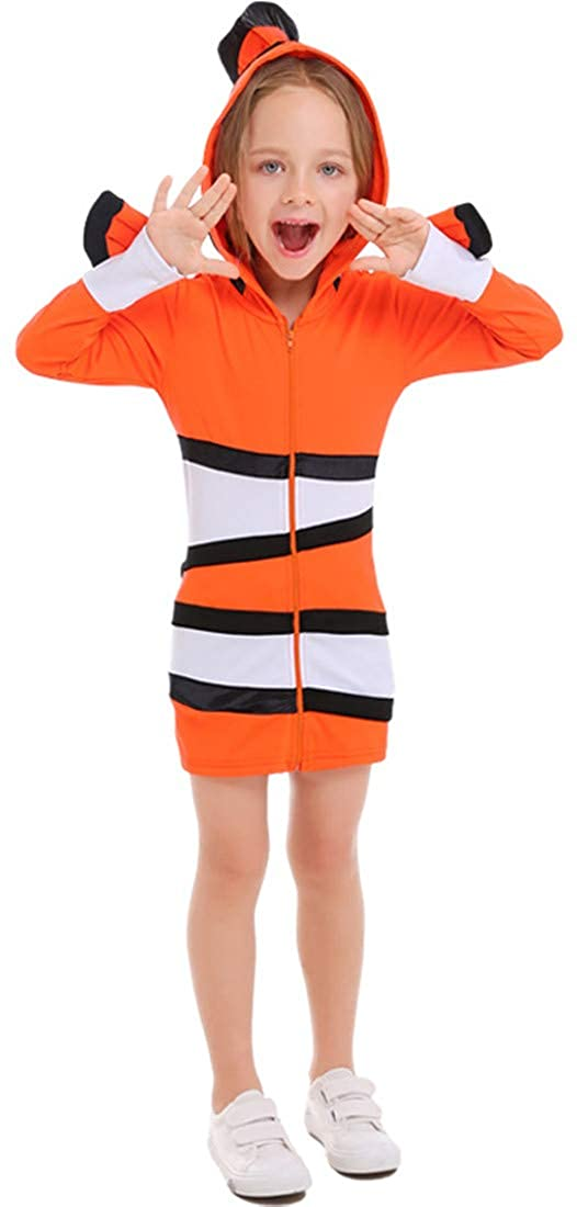 MV Clownfish Parent-Child Ocean Theme Party Costume Halloween Cosolay Clothing