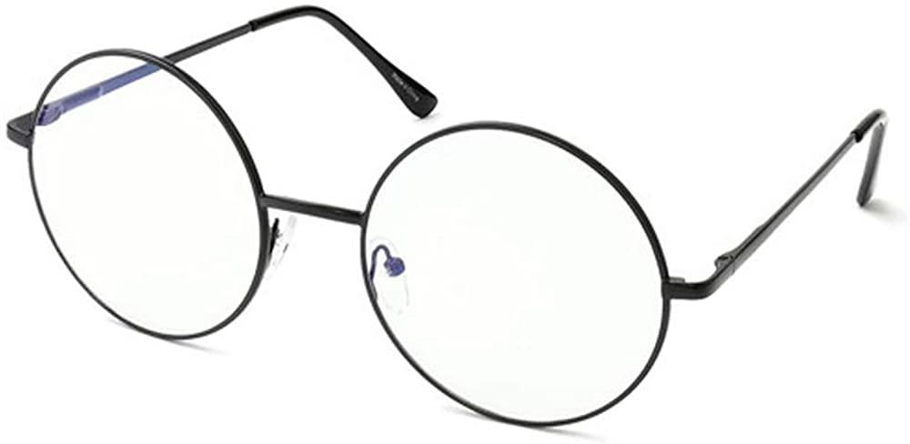 SNSE Blue Light Blocking Glasses Anti Glare UV light Filter Retro Round Glasses Computer Gaming Glasses Ultra Lightweight