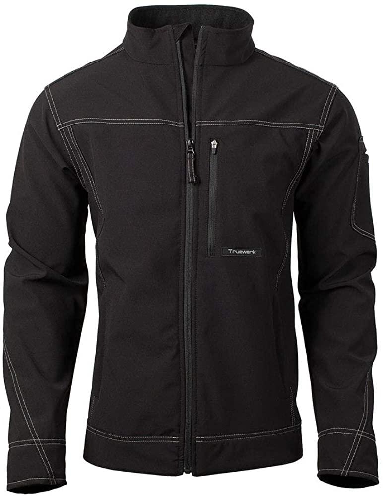 TRUEWERK Mens Softshell Workwear Jacket - T3 WerkJacket Advanced Technical Coat