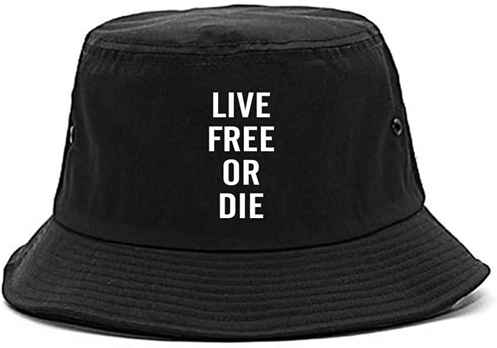 Kings Of NY Live Free Or Die Bucket Hat