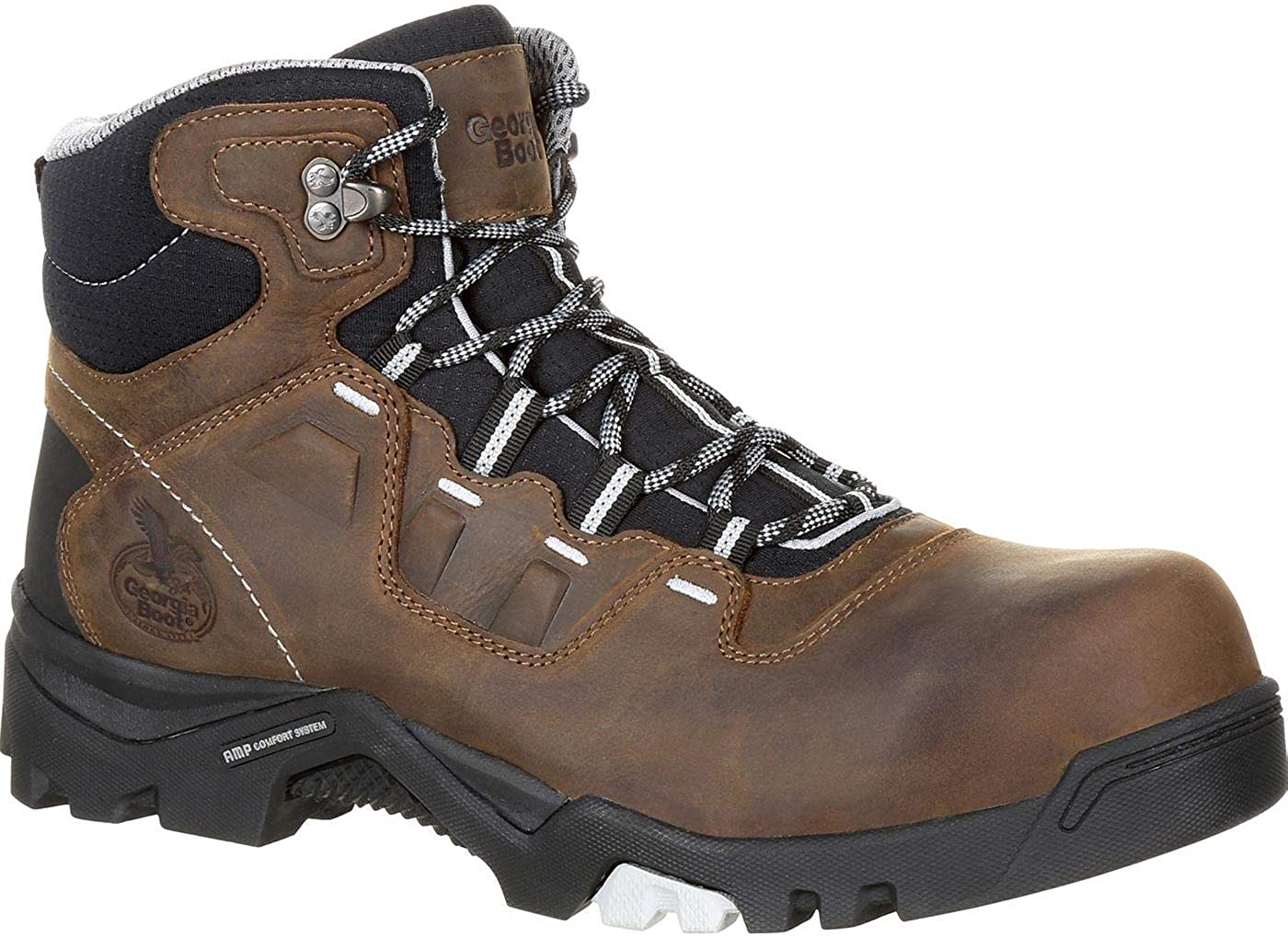 Georgia Men's Boot Amplitude Waterproof Work Composite Toe Brown 11 EE