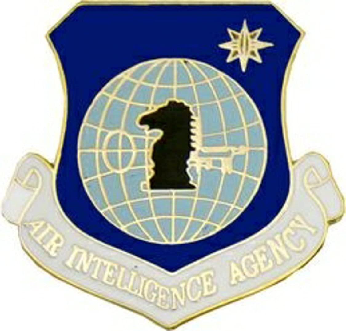US Air Force Air Intelligence Agency Lapel Pin or Hat Pin (metal, 1 1/8