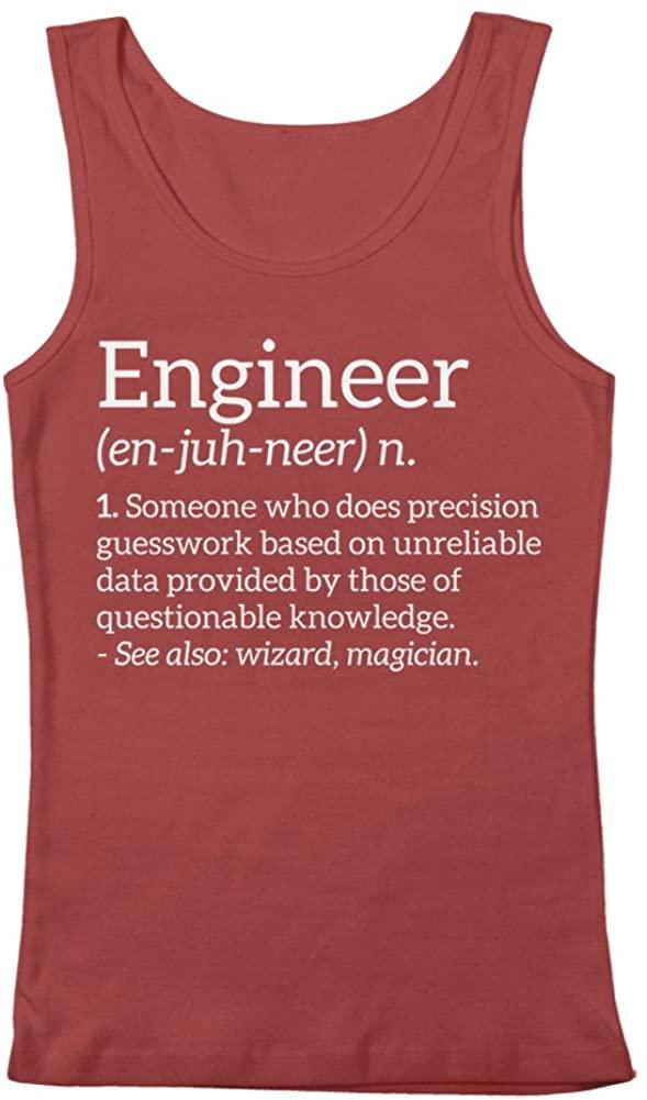 GEEK TEEZ Engineer Definition Mens Tank Top
