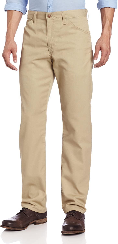 Dickies Men's Slim Straight-Fit Lightweight Five-Pocket Twill Pant