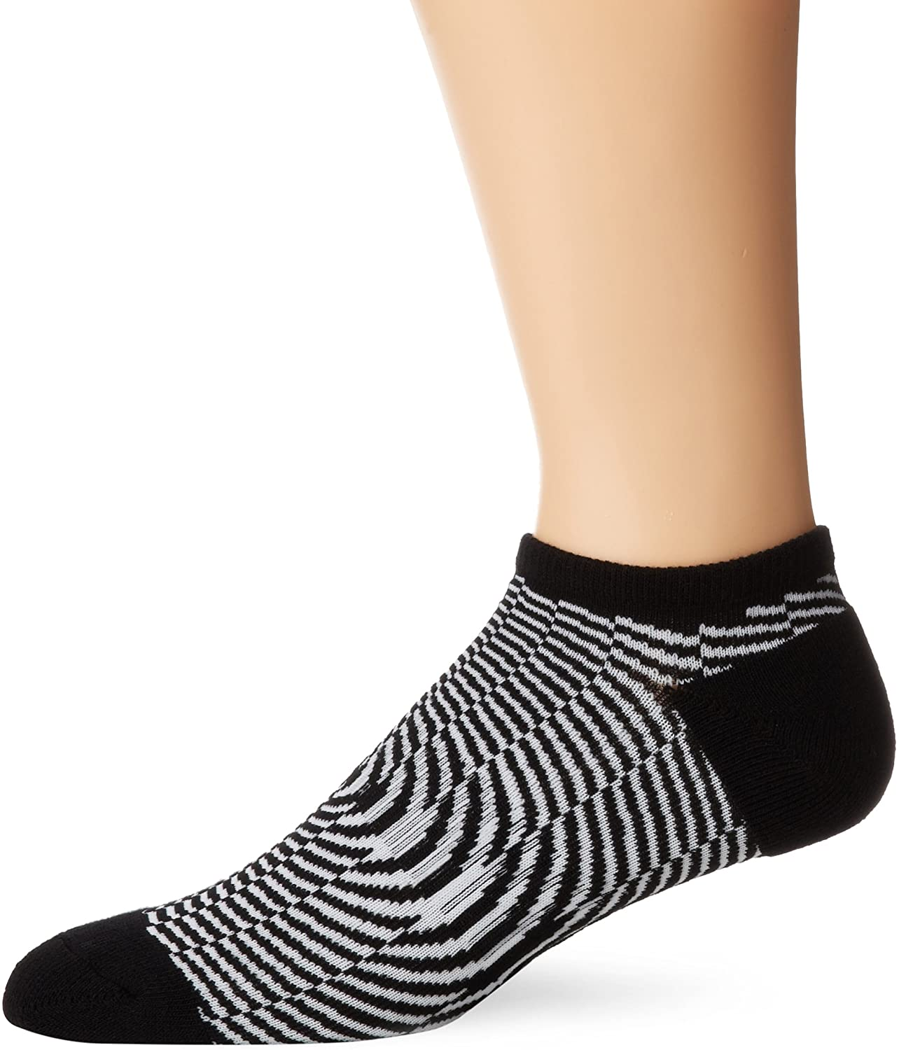 K. Bell Socks Mens Optic No Show Sock