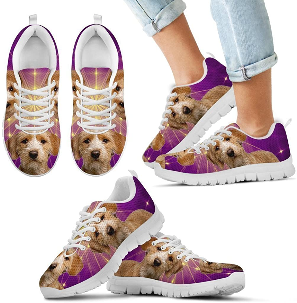 Small Dog Haus Basset Fauve de Bretagne Dog Running Shoes for Kids-Jogging Shoes