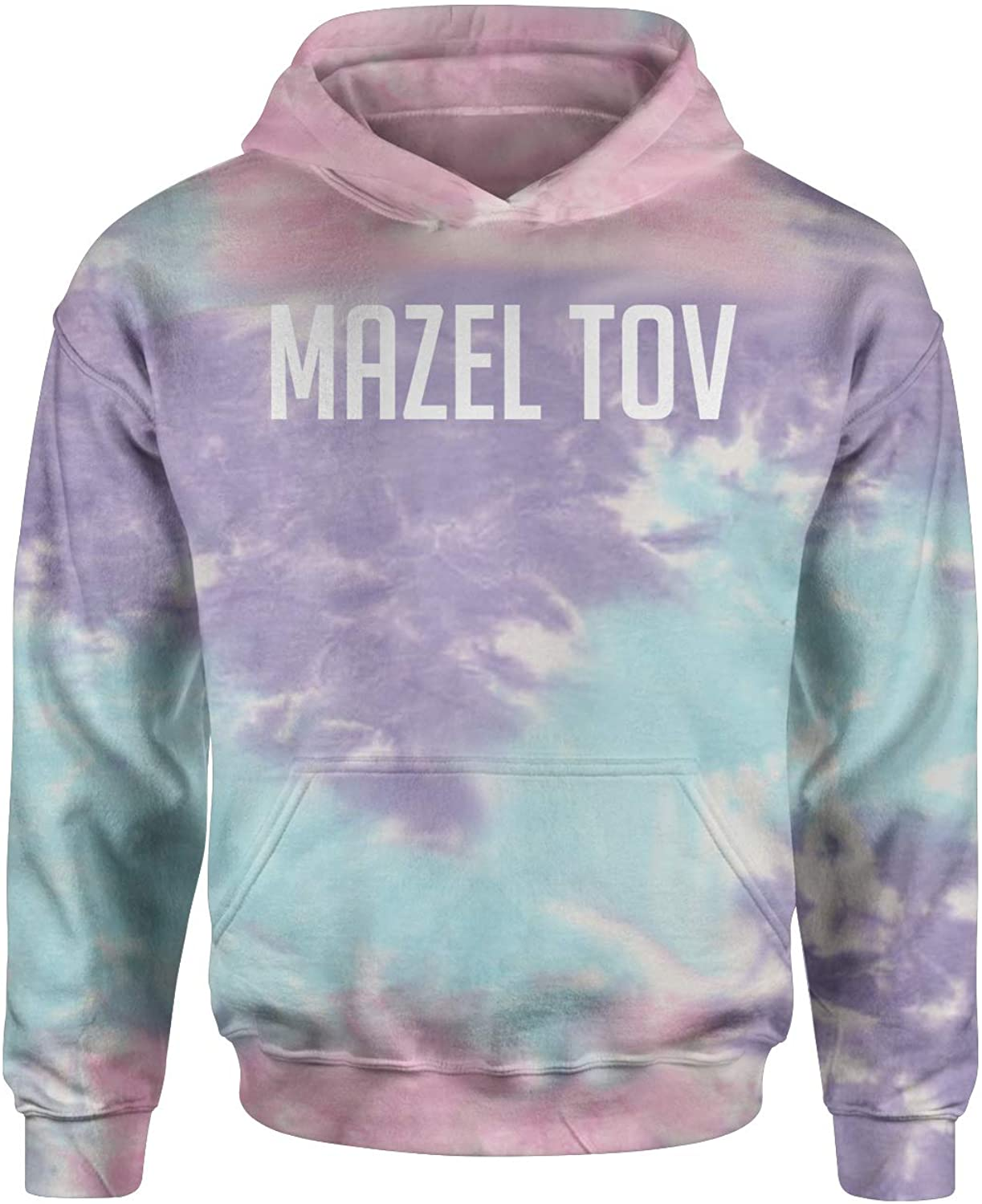 Expression Tees Mazel Tov Tie-Dye Youth-Sized Hoodie