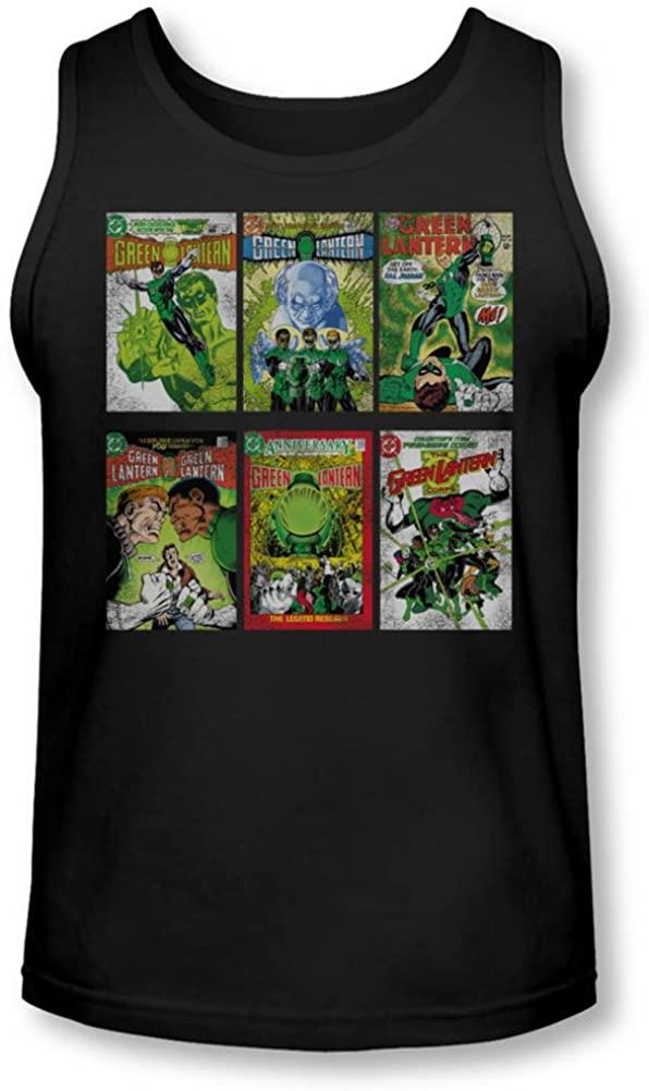 Green Lantern - Mens Gl Covers Tank-Top