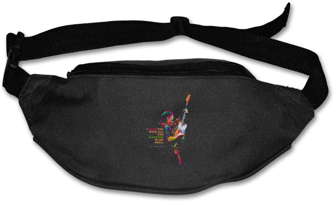 Bruce Springsteen E Street Band Runner's Waist Pack Fashion Sport Bag