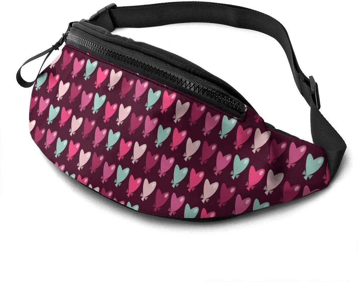 Cute Heart Fanny Pack Fashion Waist Bag