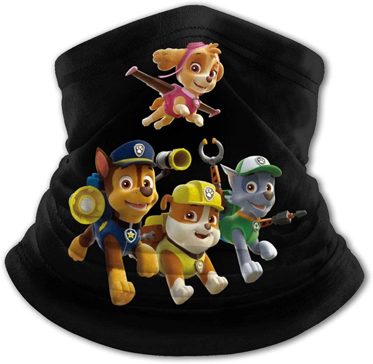 Head Scarf, Paw_Patrol Friends Windproof Face Mask Headbands Bandana Head Wrap Balaclava for Youth Boys Girls