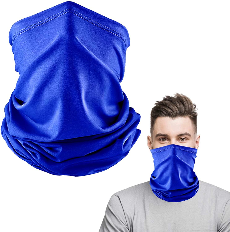 Elimoons Bandanas Neck Gaiter Face Covering for Women Men Outdoors Sport UV Protection
