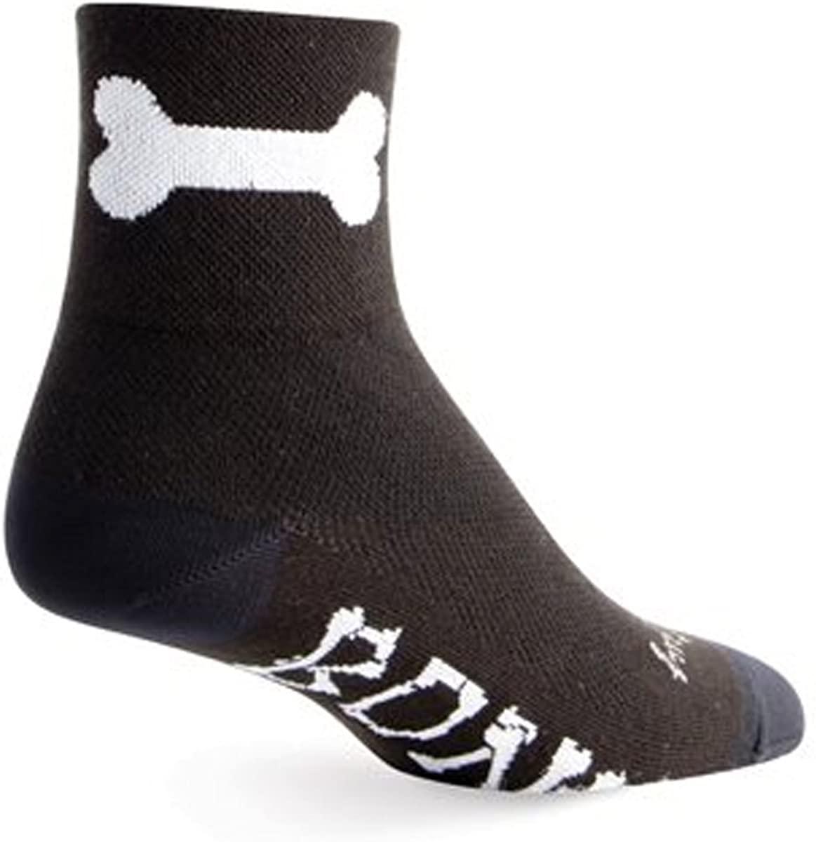 SockGuy Bone Bike Sock