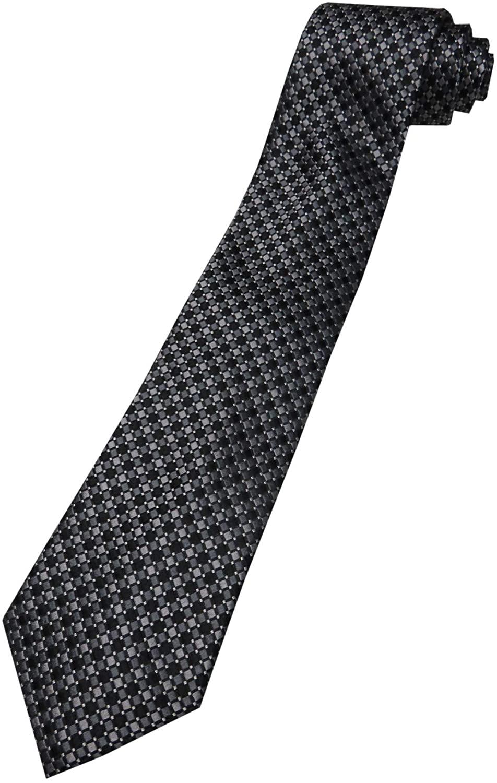 Donald Trump Neck Tie Black and Silver