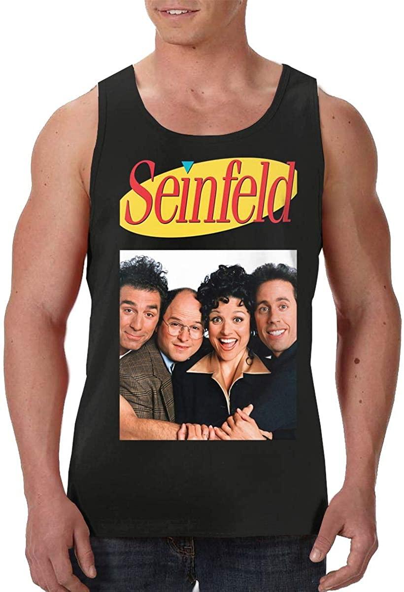 Lucky Person Seinfeld Kramer Adult Cotton Men's Vest