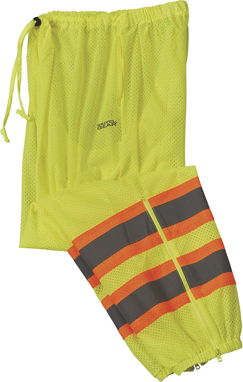 Gravel Gear Men's Class E Work Pants - Lime, Small/Medium