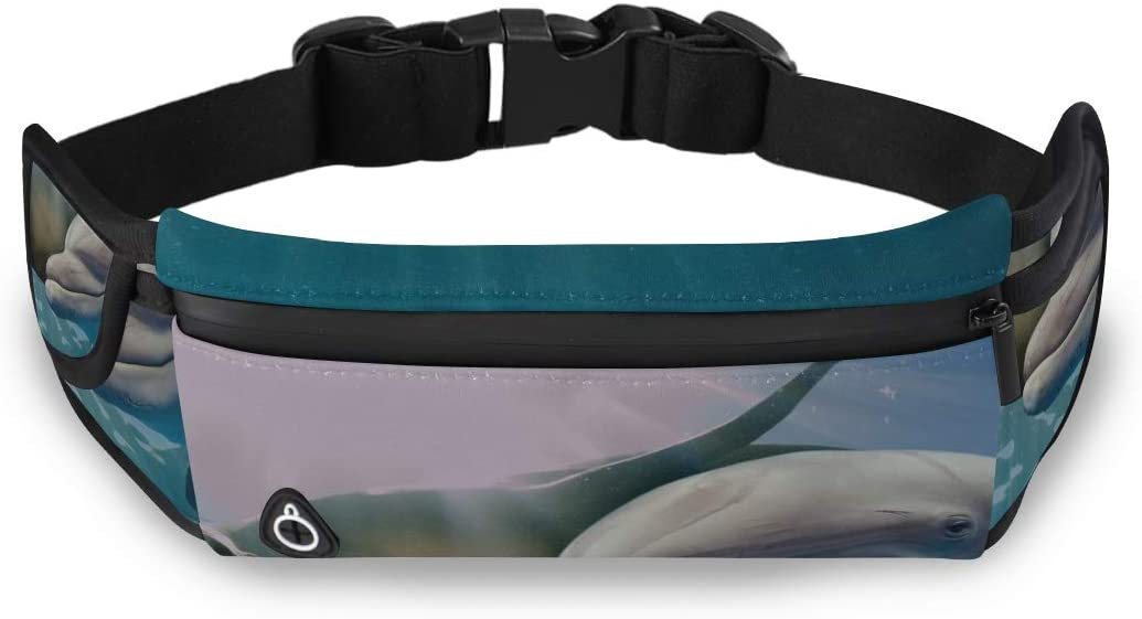 Seal And Turtle Fashion Overnight Bag Waist Bag Holder Cheap Fanny Pack With Adjustable Strap For Workout Traveling Running