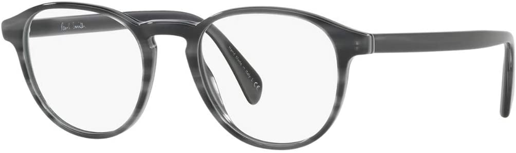 Paul Smith Rx Eyeglasses Frames PM 8263 1540 48x19 Mayall Deluxe Grey Stripe