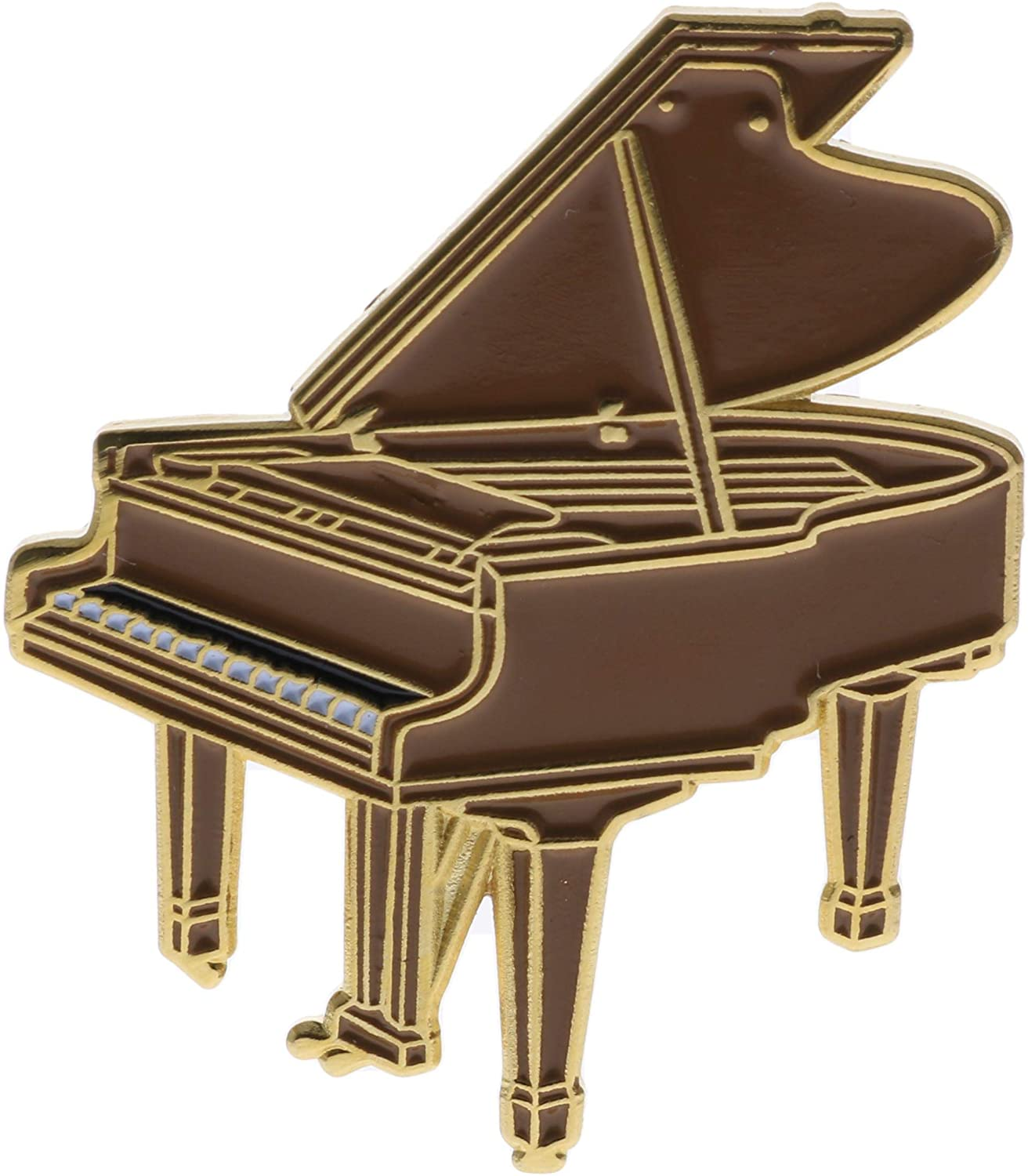 Grand Piano Hat or Lapel Pin AVA0187