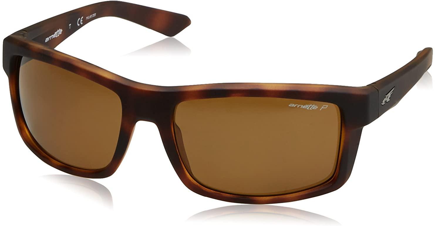 ARNETTE Men's An4216 Corner Man Rectangular Sunglasses