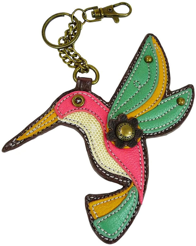 Chala Hummingbird Key Fob, Bird Lovers Gift Keychain