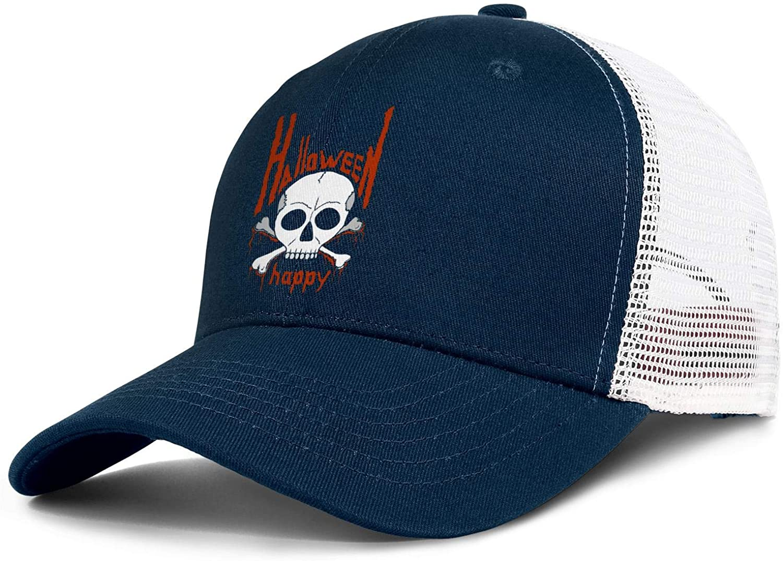 Unisex Universal Halloween Accessories Pumpkin Head Summer Novelty Baseball Cap Eye-catching Hats Travel Caps Adjustable