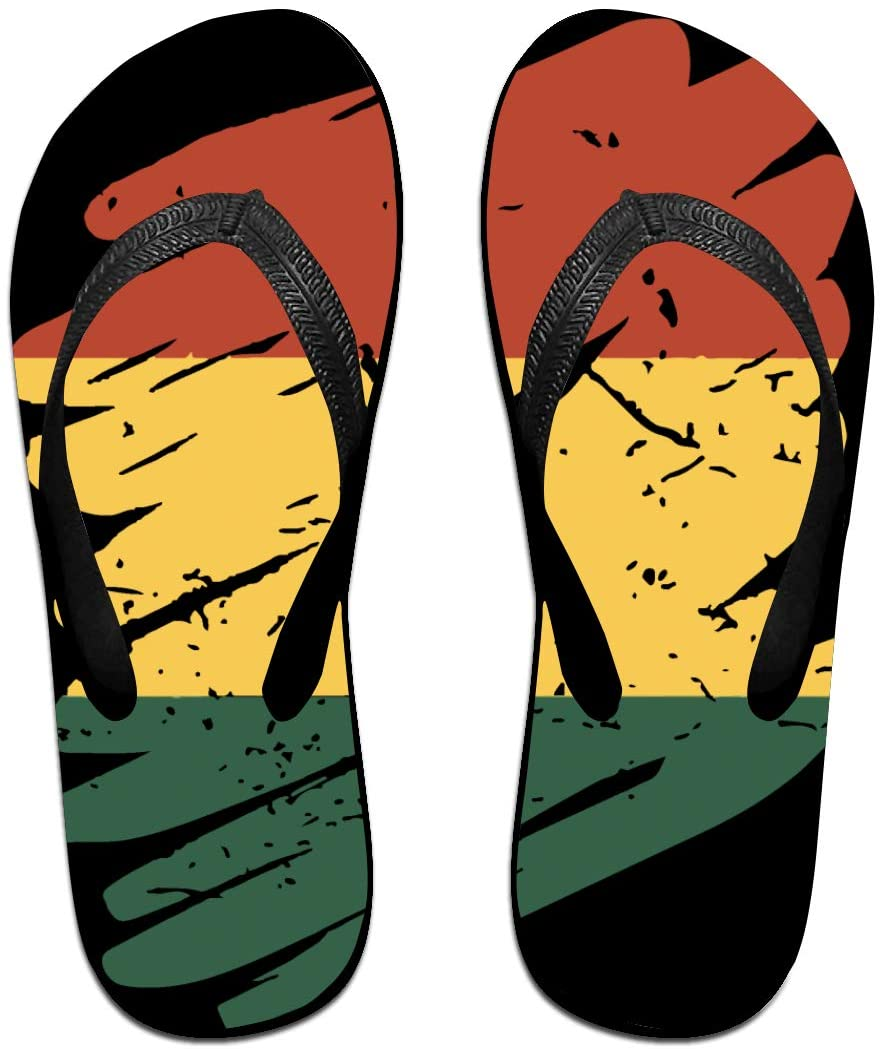 seaEagle Pinsel Land Heimat Ghana Slipper Flip Flop Shower Sandals