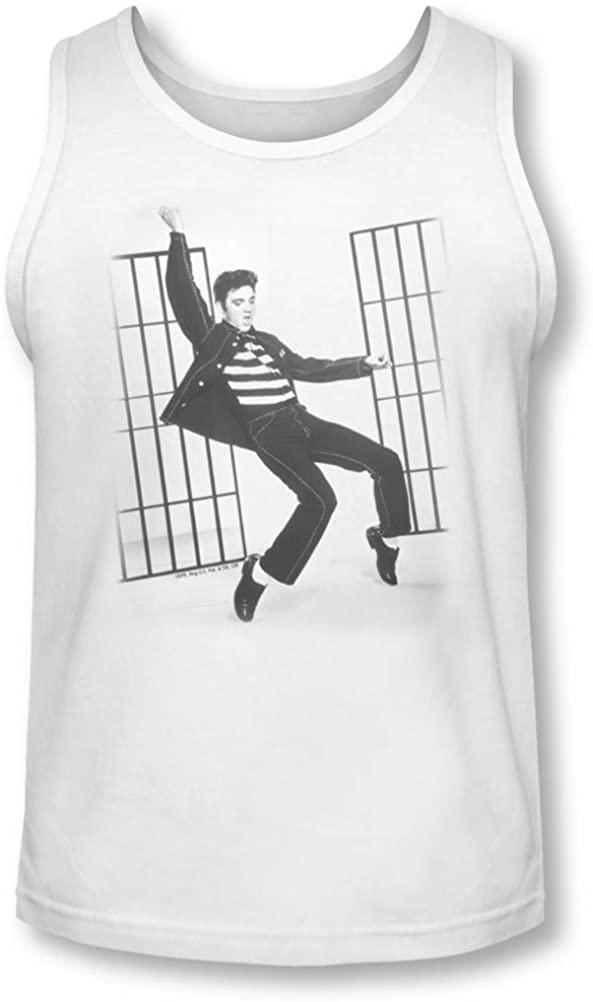 Elvis - Mens Jailhouse Rock Tank-Top