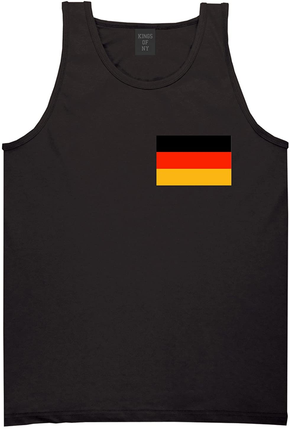 Kings Of NY Germany Flag Country Chest Tank Top Shirt