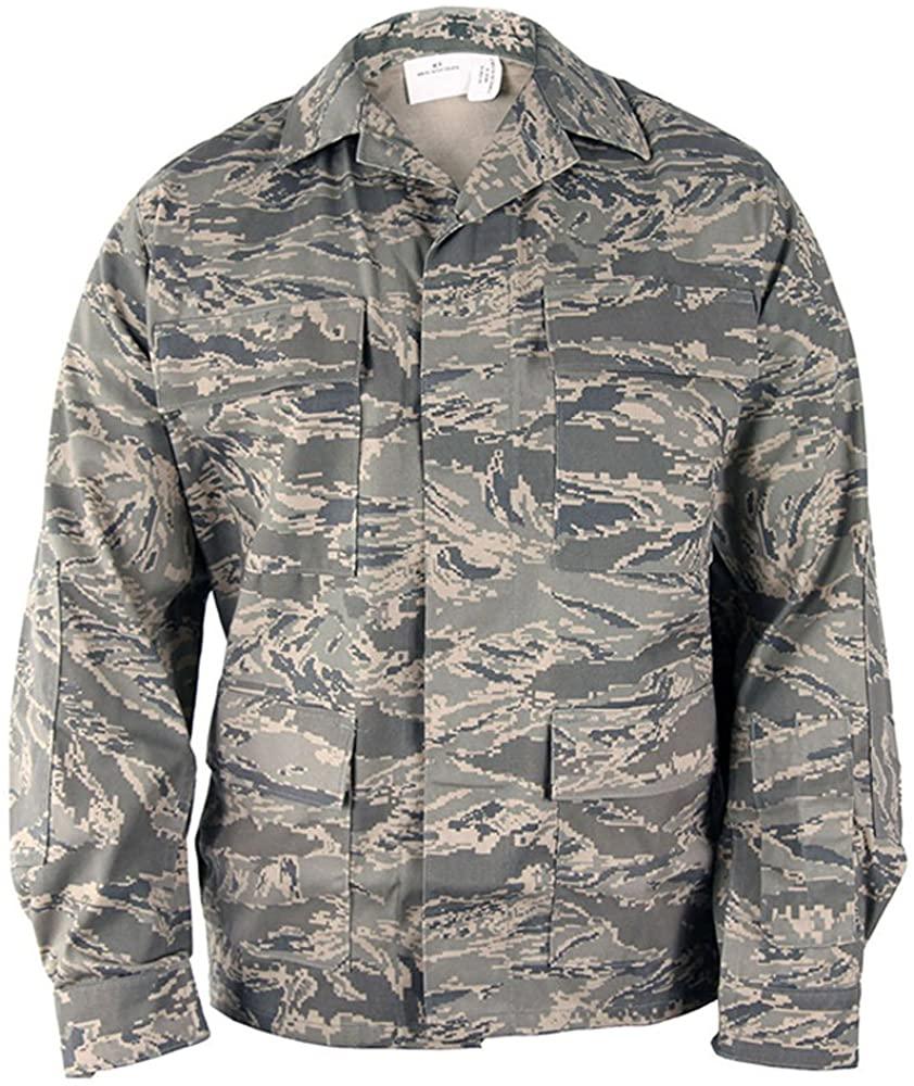 Propper Men's ABU Coat Air Force Digital Tiger Stripe 36S