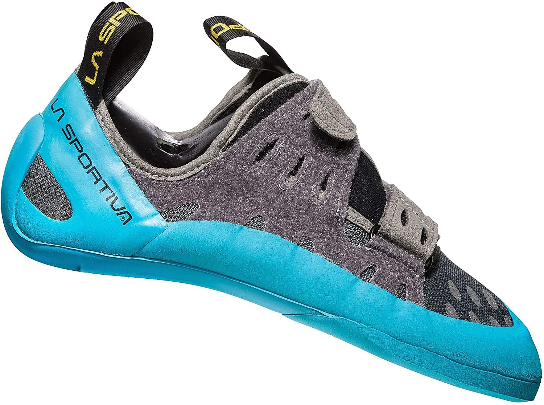 La Sportiva GeckoGym Carbon/Tropic Blue Talla: 41