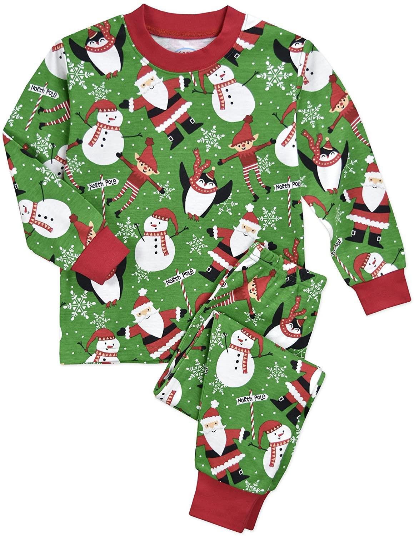 Sara's Prints Kids' Super-soft Classic Pajama Set