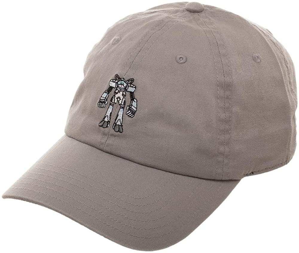 Rick & Morty Snuffles Dad Hat Grey