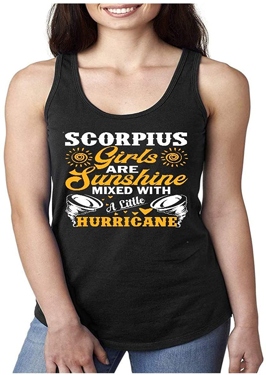Scorpius Girls are Sunshine Mixed with A Little Hurricane Shirt - Tshirt