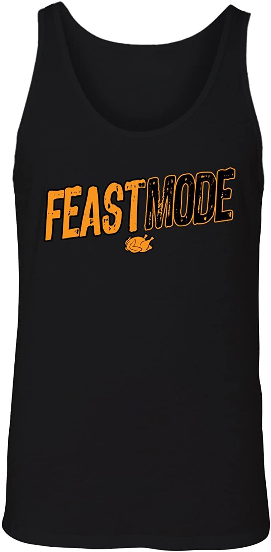 Manateez Men's Thanksgiving Dinner Feast Mode Tank Top