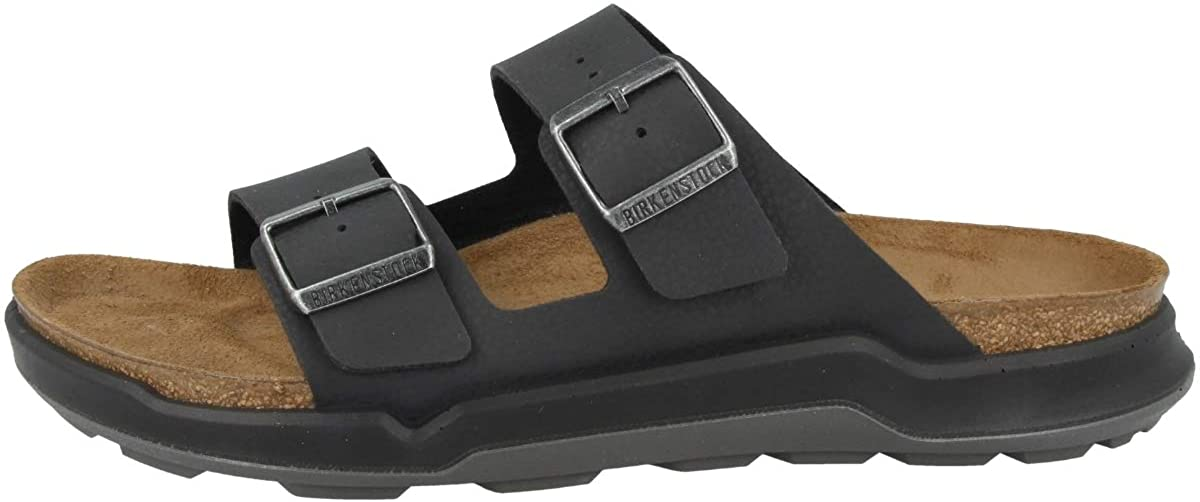 Birkenstock Men's Sandales Arizona Ct Birko-Flor Desert Soil Black