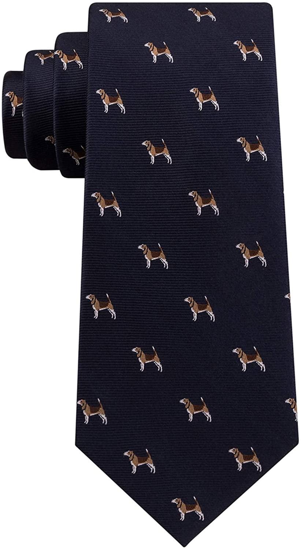 Club Room Mens Hunting Dog Self-Tied Necktie