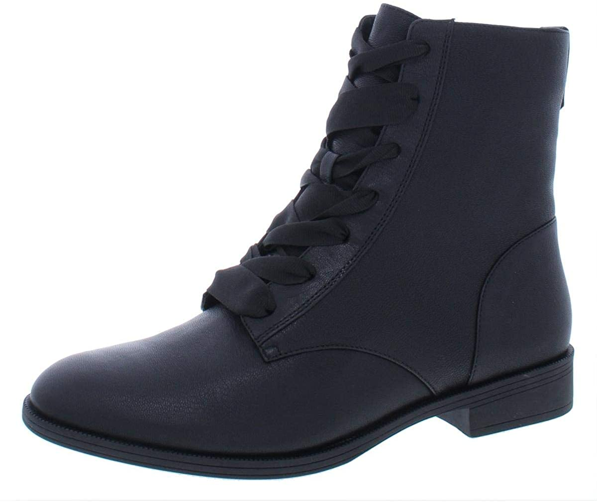 Vionic Women's Holden Jayce Ribbon Lace Up Boots - Ladies Boots with Waterproof Leather Upper and Concealed Orthotic Arch Support