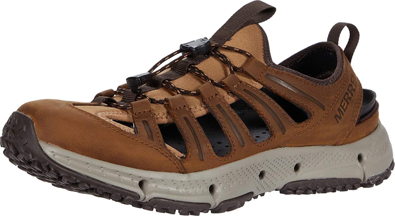 Merrell Mens Hydrotrekker Leather Sandle