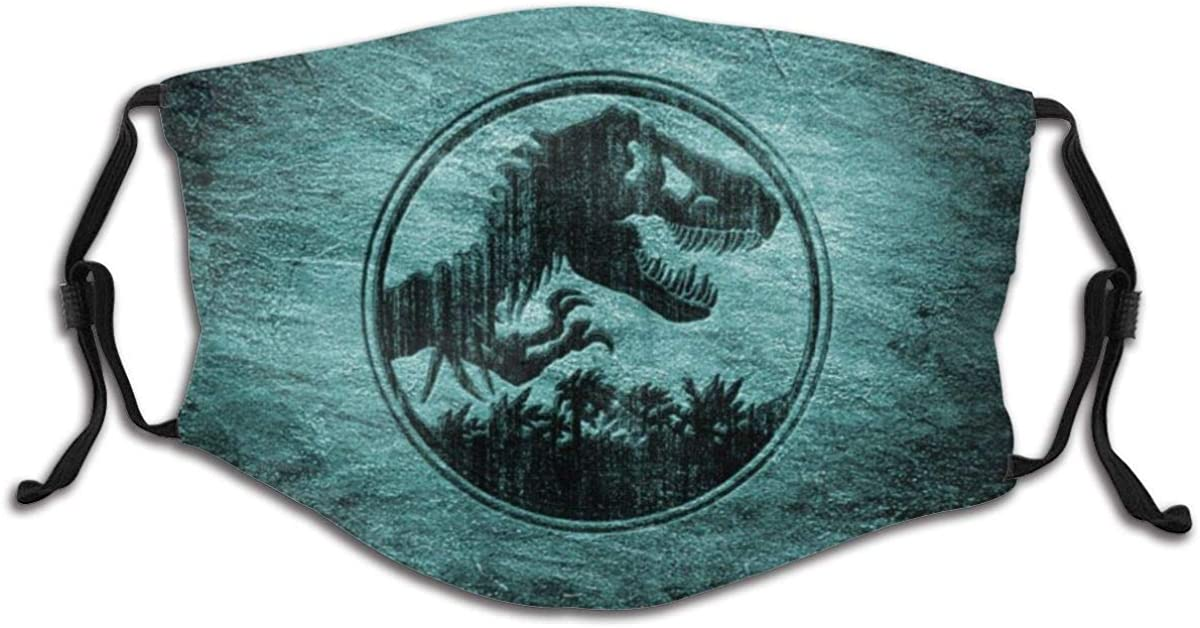 Ju-Rassic Park Child Cute Fashion Face Cover, Suitable For Children Aged 6-14