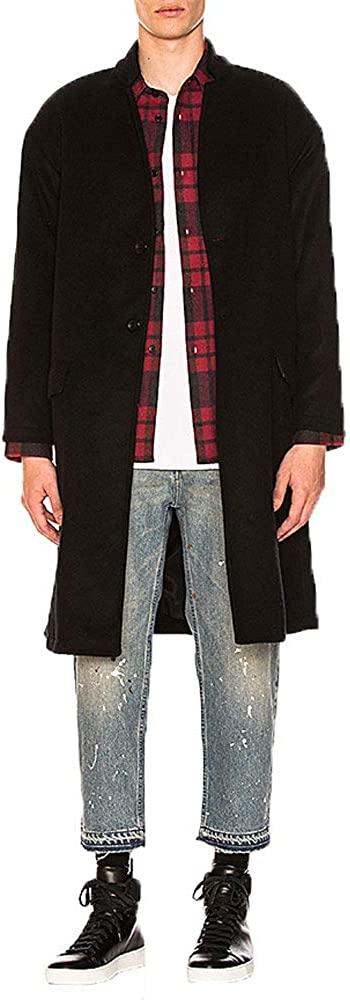 John Elliott Mens Cashmere Top Coat