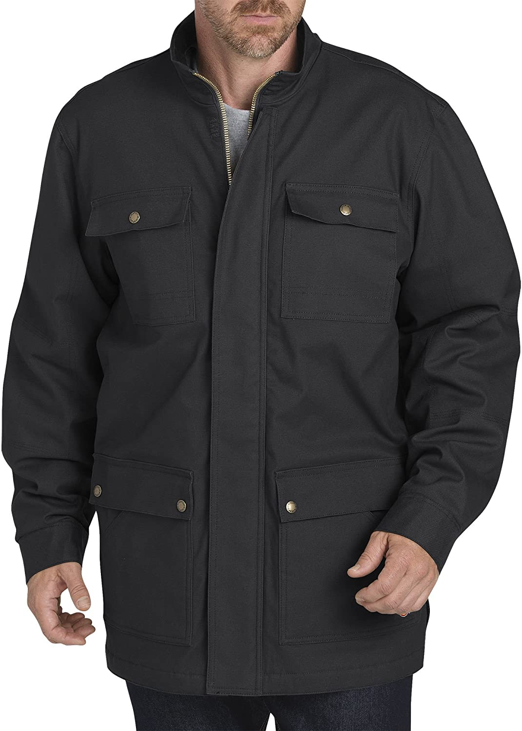 Dickies Men's Sanded Duck Flex Mobility Coat
