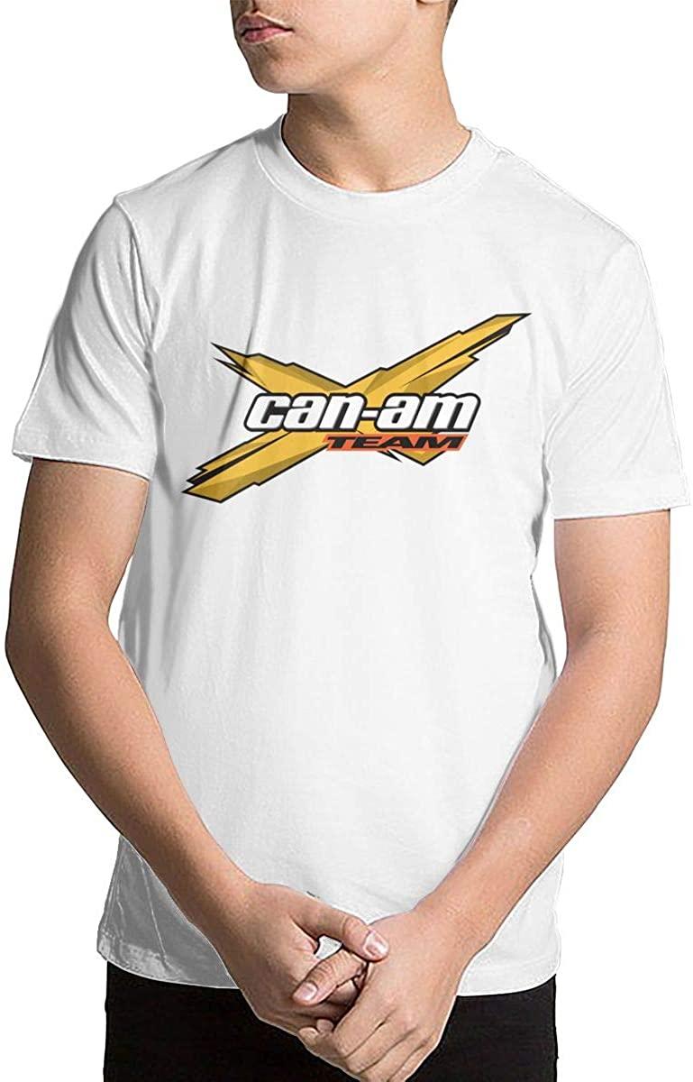 Youth Kids' Can Am Short Sleeve Printed T-Shirt Crewneck Shirt Short Sleeve