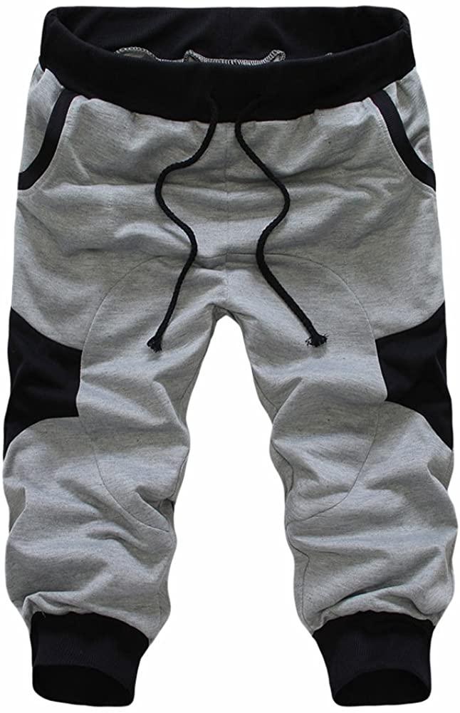 SoEnvy Mens Casual Harem Training Jogger Sport Short Baggy Pants