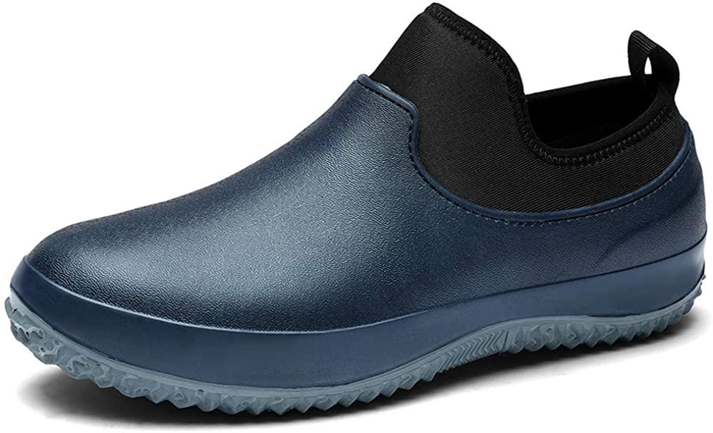 TENGTA Waterproof Gardening Rain Shoes Women's Nursing Footwear Slip Resistant Men's Chef Shoe