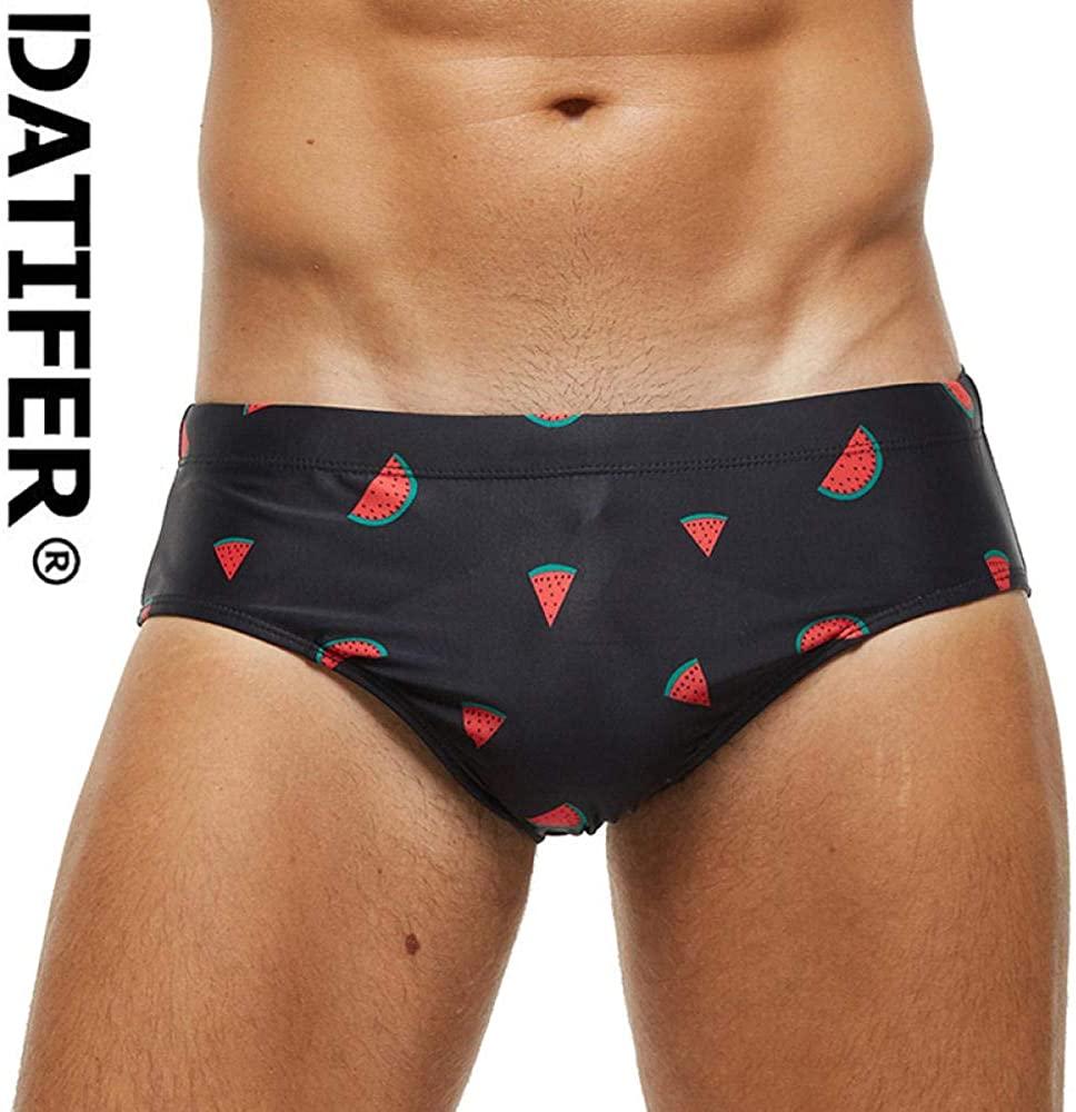 STaemin Print Swimsuit Men Swimwear Low Waist Sexy Boxers Swimwear Shorts Men Swim Briefs