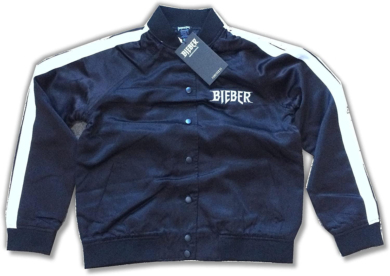 Purpose Tour Juniors Black Satin Jacket